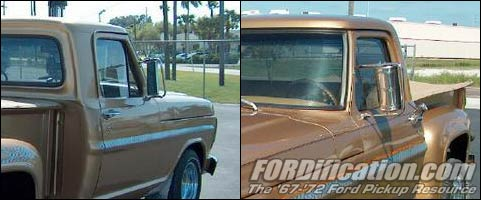 68 F 100 Mirrors The Fordification Com Forums