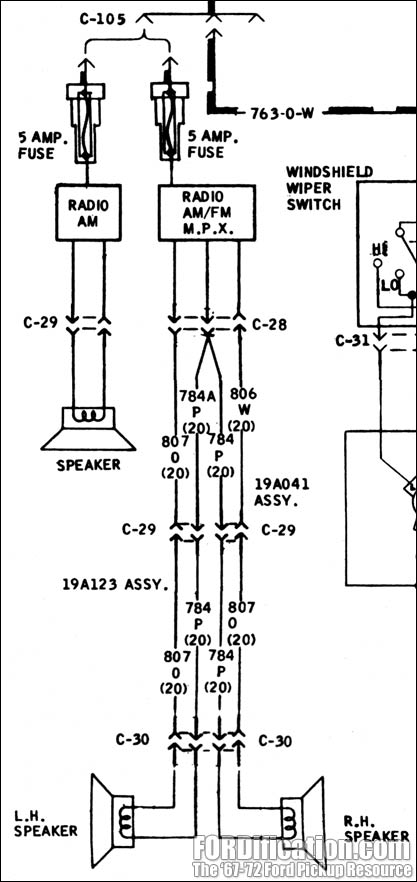 1967 corvette speaker wiring diagram