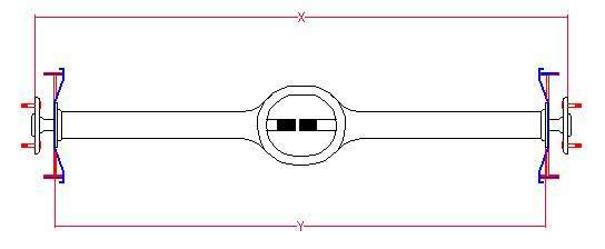 diagram of a 1996 ford front axle