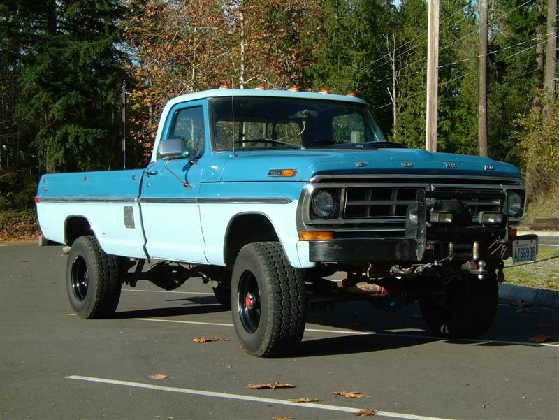 1971 Ford F250 Highboy 4x4 Nice A Must See 60 Pictures Image 16