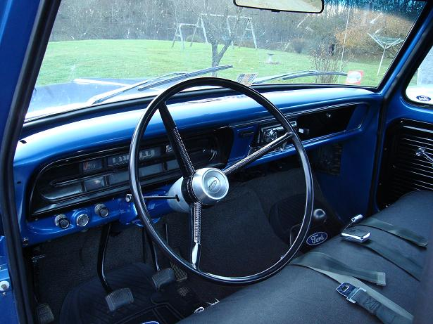 Ford Ranger Xlt >> My 72 f100 project( more of the interior ) - Page 5 - The ...