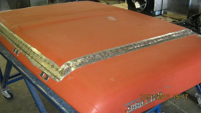 Building a cowl induction hood look - The FORDification com Forums