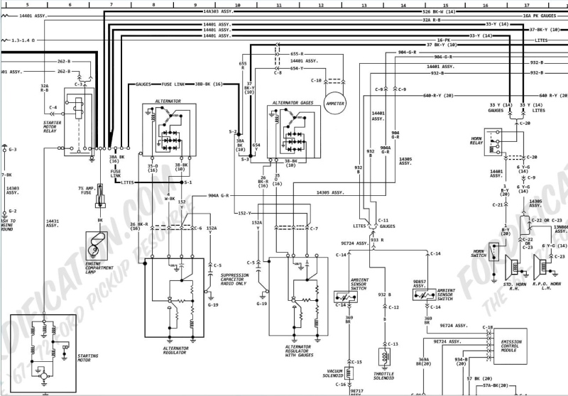 roadliner wiring diagram