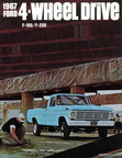 1967 Ford 4WD Truck dealer brochure