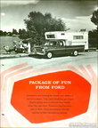 1967 Ford Camper Special Trucks brochure