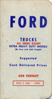 1967 Ford Truck pocket price guide