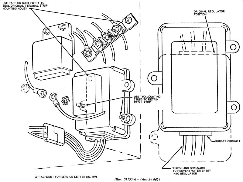 Fordification Tsb Database View Topic Article 962. Oper Sp10505a67 Time 06 Hrs. Ford. Wiring Diagram Ford 10505a Voltage Regulator At Scoala.co