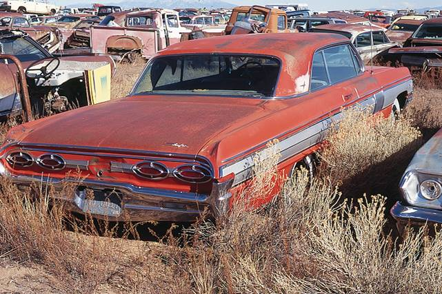 Ford Wrecking Yard Texas