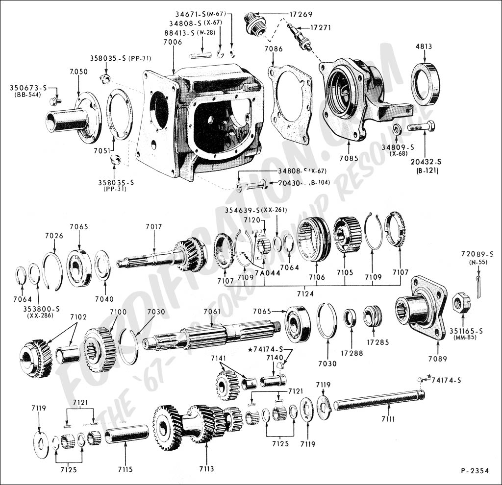 Ford F350 Drivetrain Diagram on 1940 ford body parts html