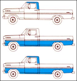 decoding your 1972 ford truck vin fordificationcom - Ford Truck Paint Colors