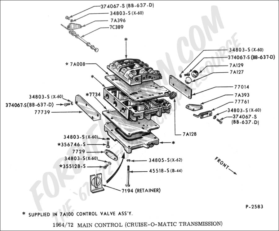 Schematics g on ford f100 clutch linkage