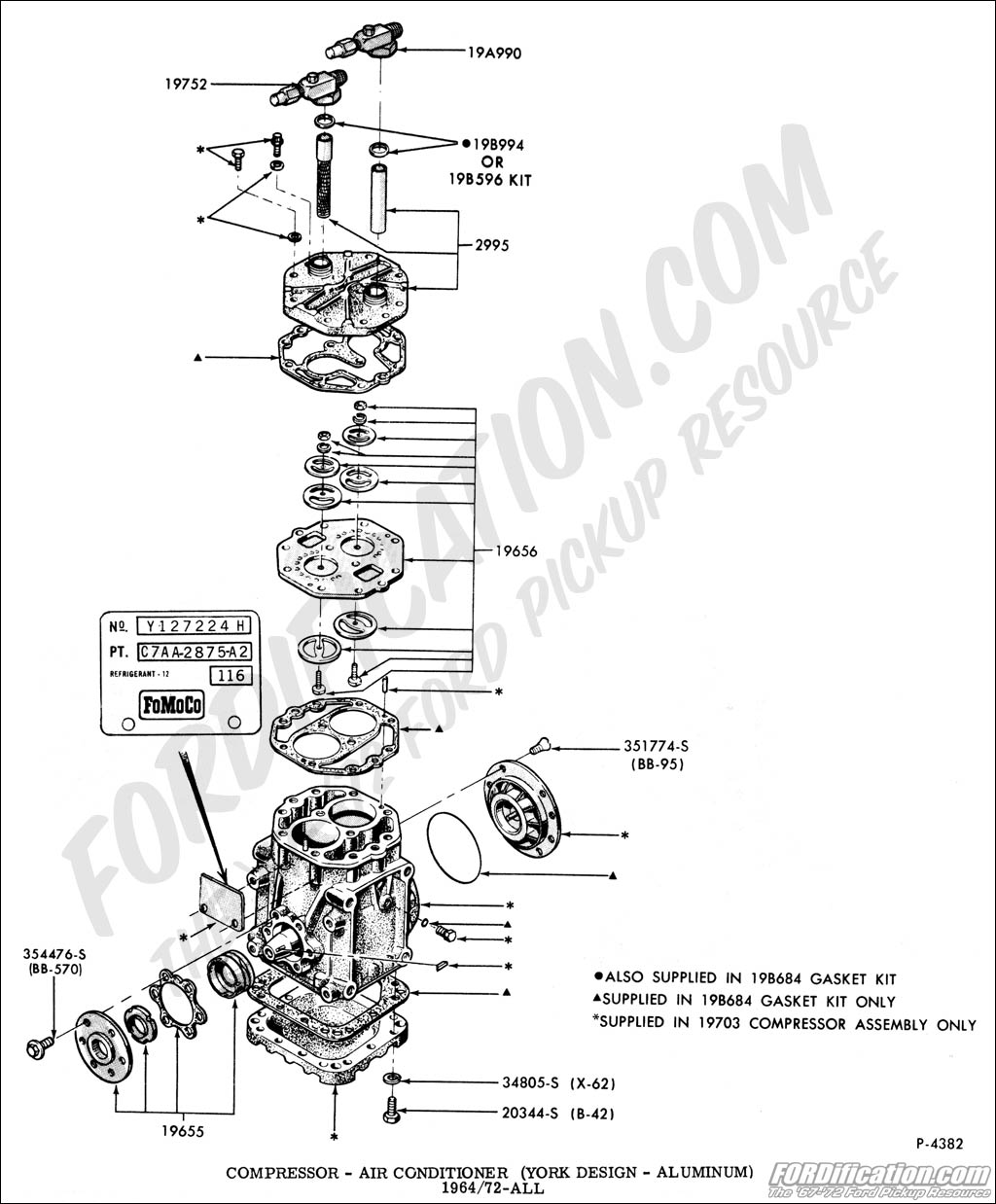 air pressor wiring diagram ford truck technical drawings and schematics section f  ford truck technical drawings and schematics section f