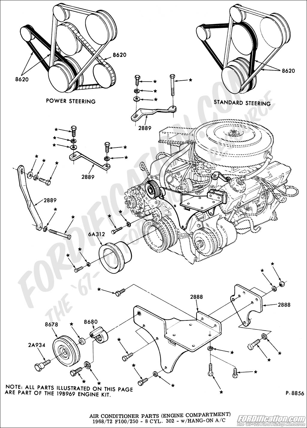 1969 ford 302 engine diagram