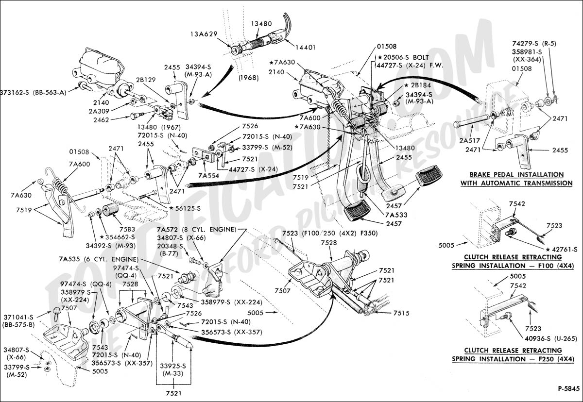 Schematics b on 1968 mustang dash wiring diagram