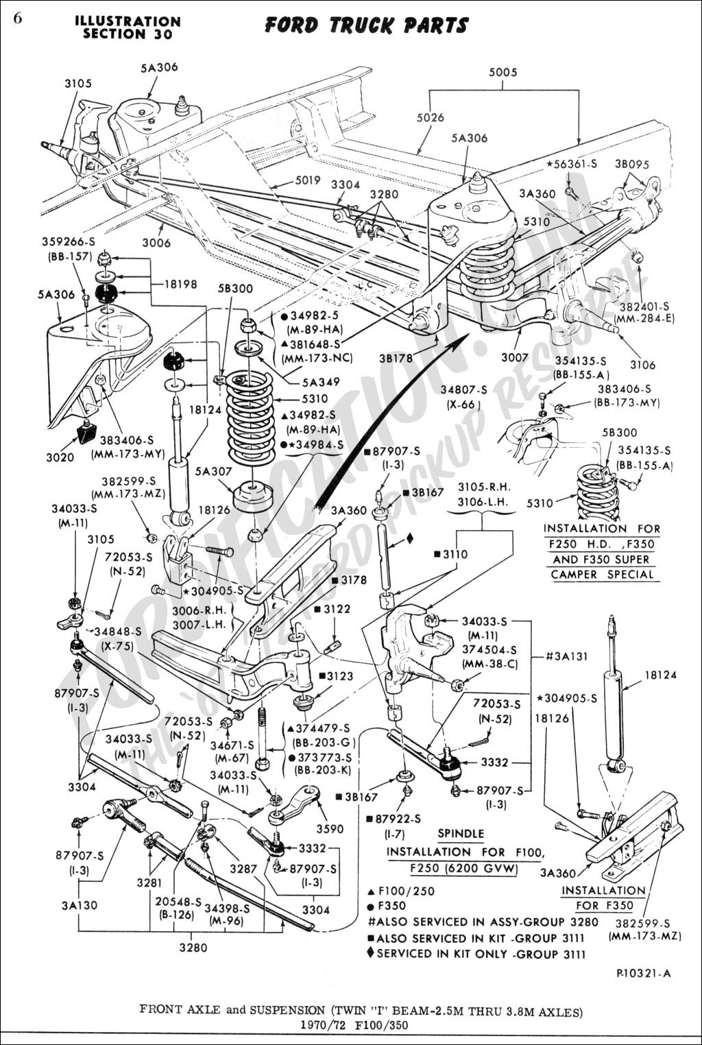 Ford Front Axle Diagram : Ford f parts diagram free engine image for