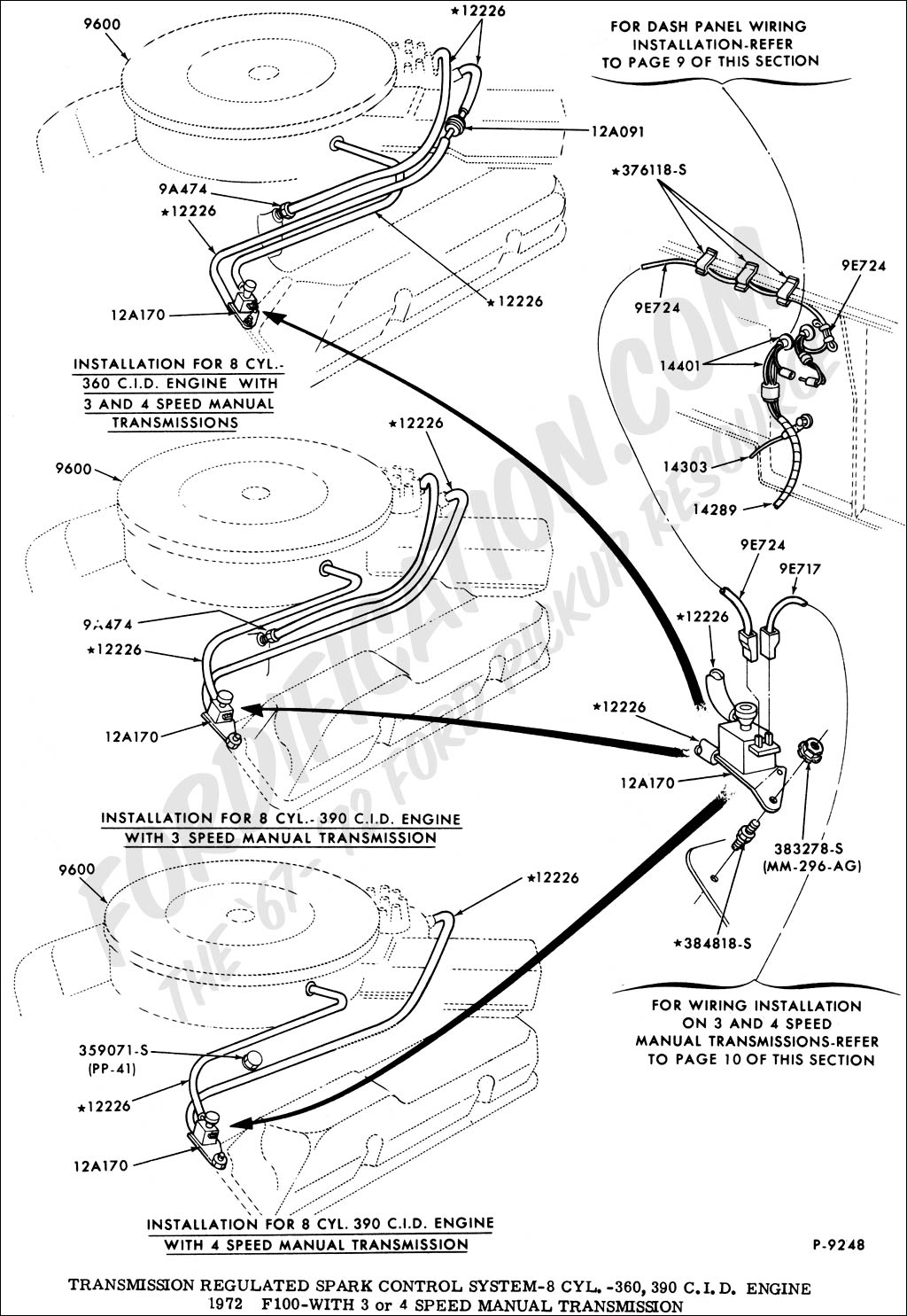 78 ford bronco vacuum diagram  78  free engine image for