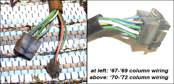 steering column_connectors how to install power steering in a 2wd f100 250 350 1954 Ford Steering Column Wiring Diagrams at creativeand.co