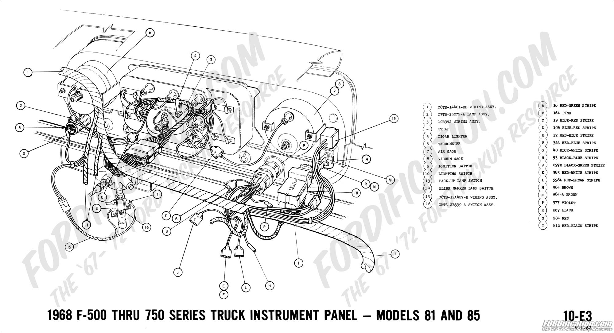 Diagram  Wiring Diagram For 1968 Ford F250 Full Version