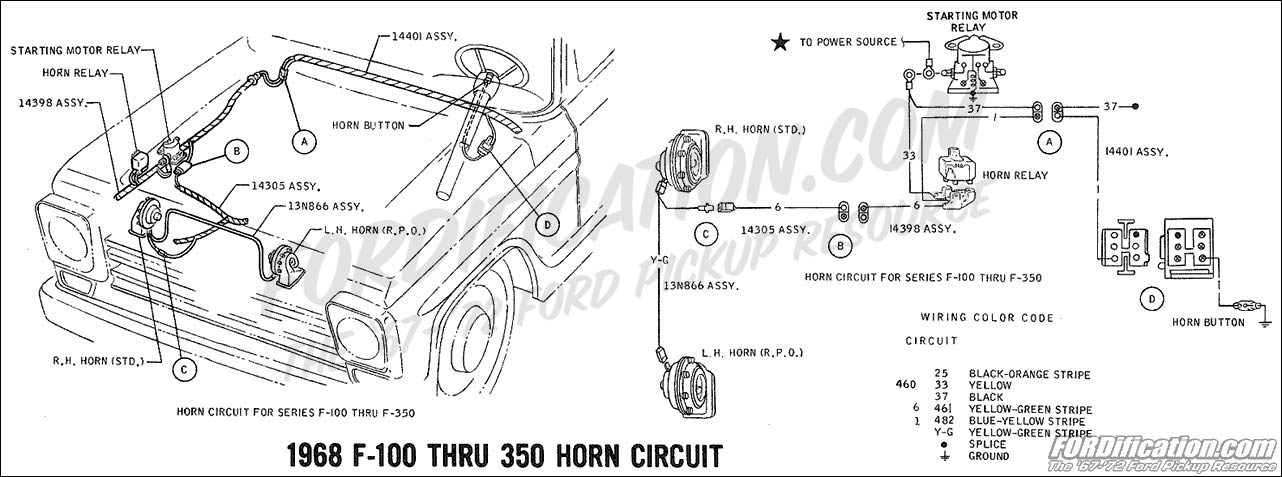 horn location on 2011 ford f 350  horn  free engine image
