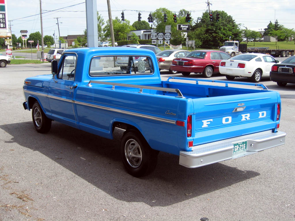 1970 Ford F 100 Explorer 358 Original Miles Truck Lowered