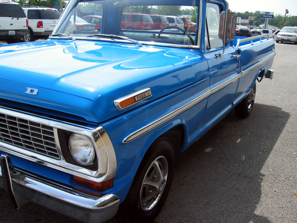 1970 Ford F 100 Explorer 358 Original Miles F100 Truck This Is As Close To Being A New There No Disappointments