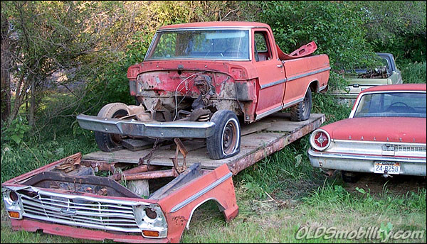 Lowered Ford Truck
