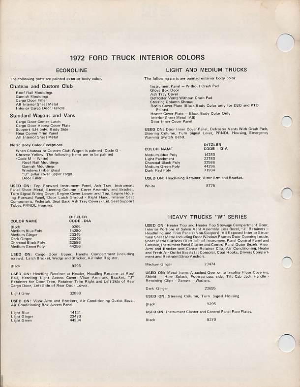 ford econoline 196 pickup vin decoder