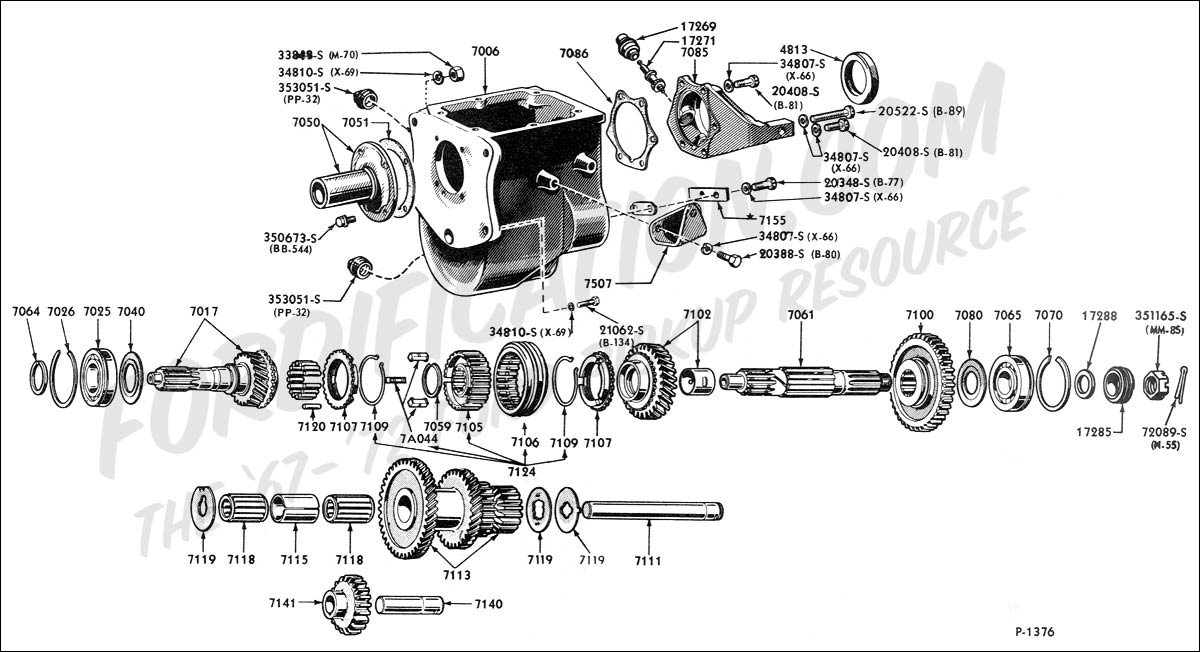 ford truck technical drawings and schematics section g rh fordification com Used Transmissions Used Transmissions