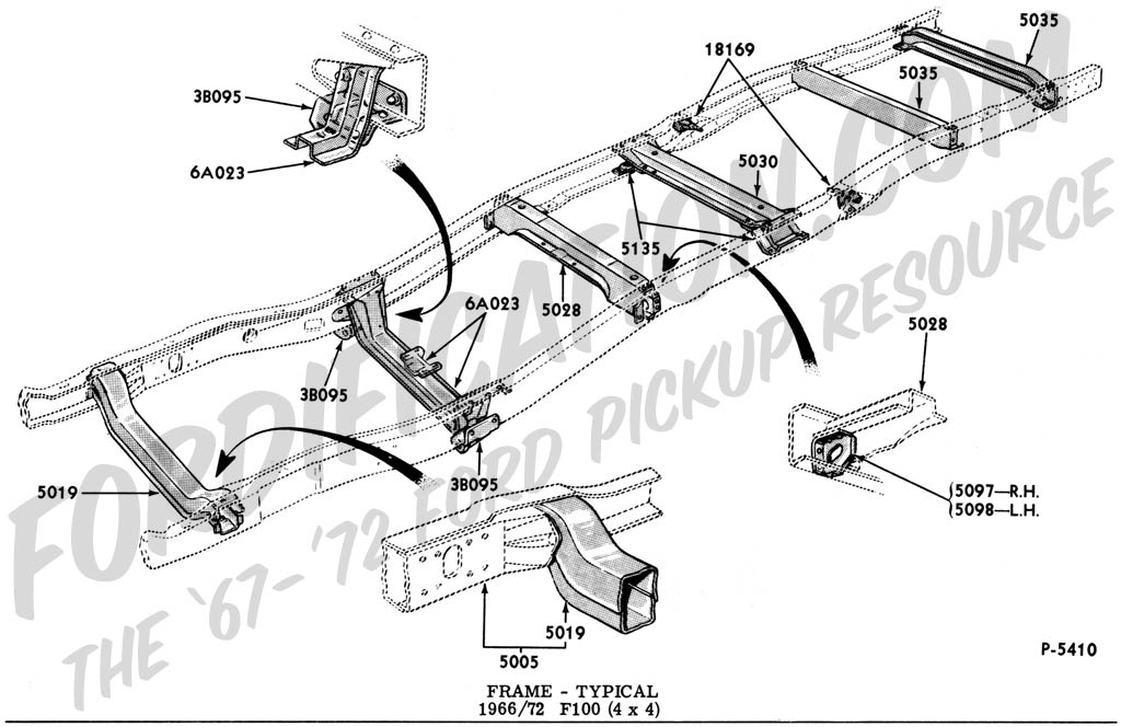 ford truck technical drawings and schematics section d frame rh fordification com