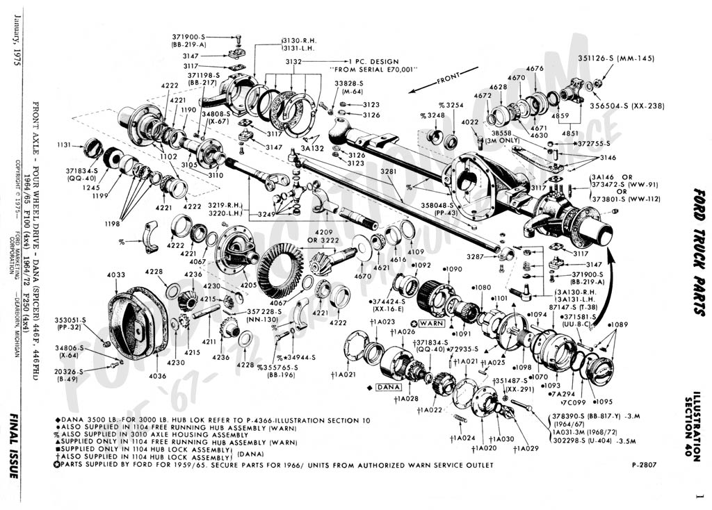 Ford F 350 Front Axle Diagram Wiring Diagrams Best