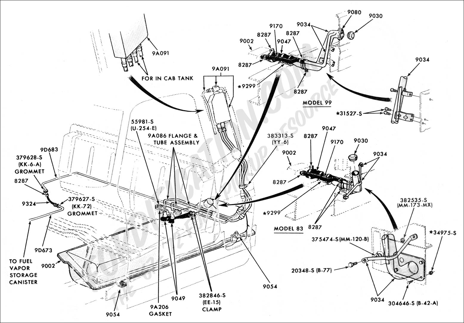 1988 Ford Bronco Fuel Line Diagram On Wiring Diagram