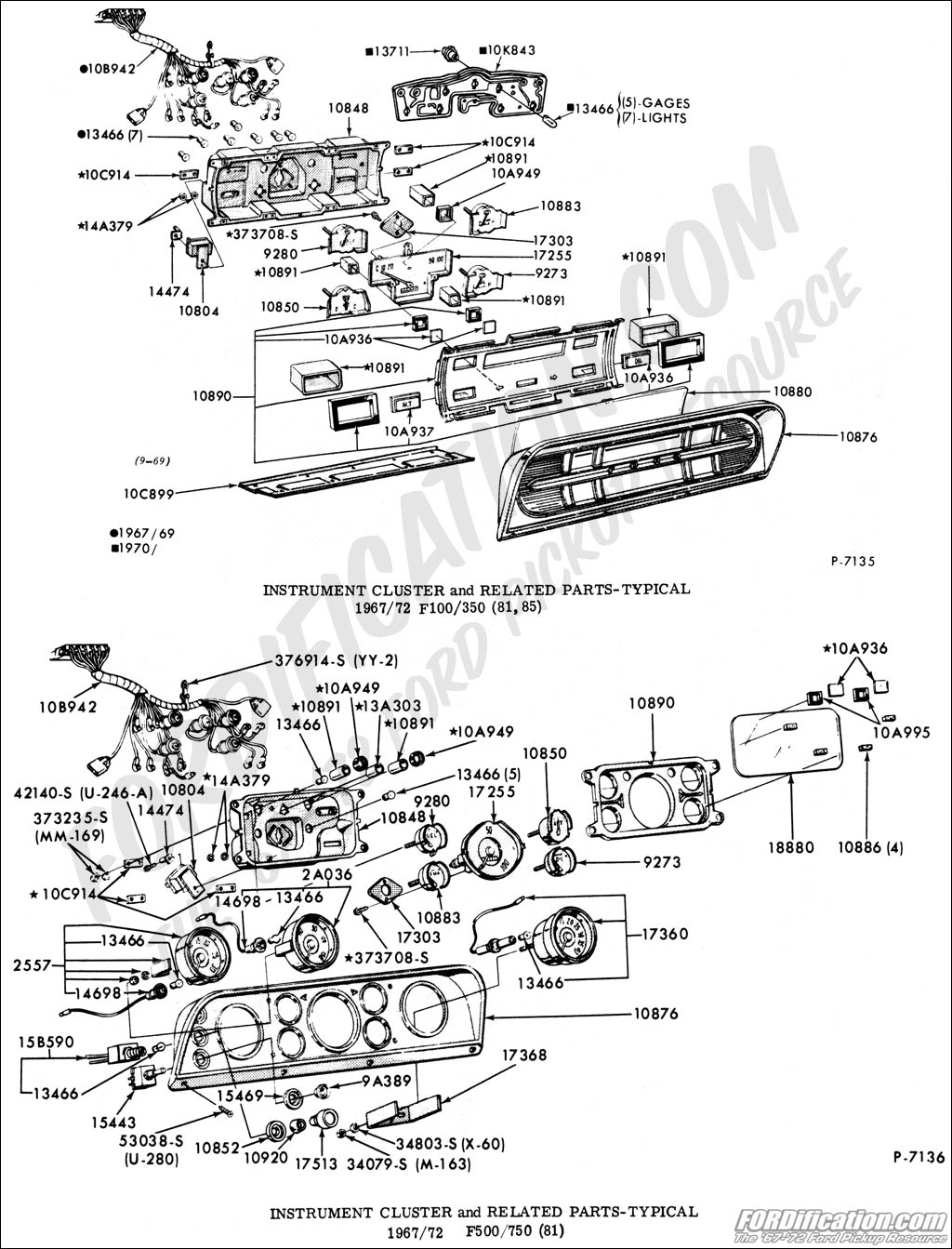 Instrupanel on Ford F800 Wiring Diagram