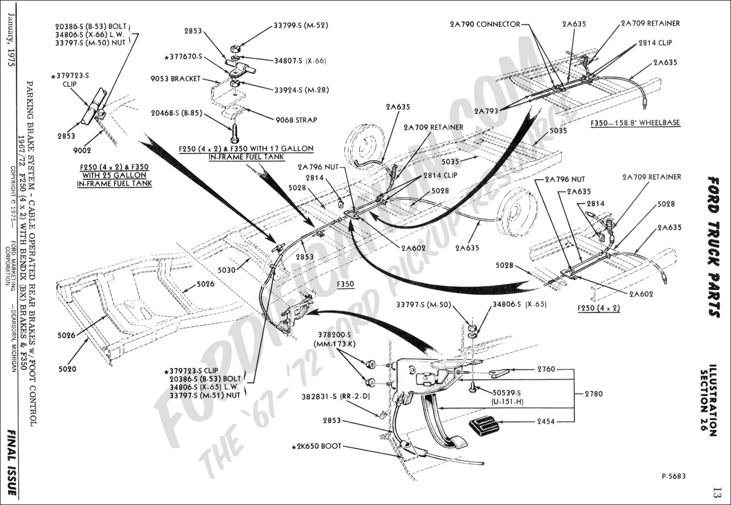 1967 Ford Bronco Wiring Diagram Wiring Library