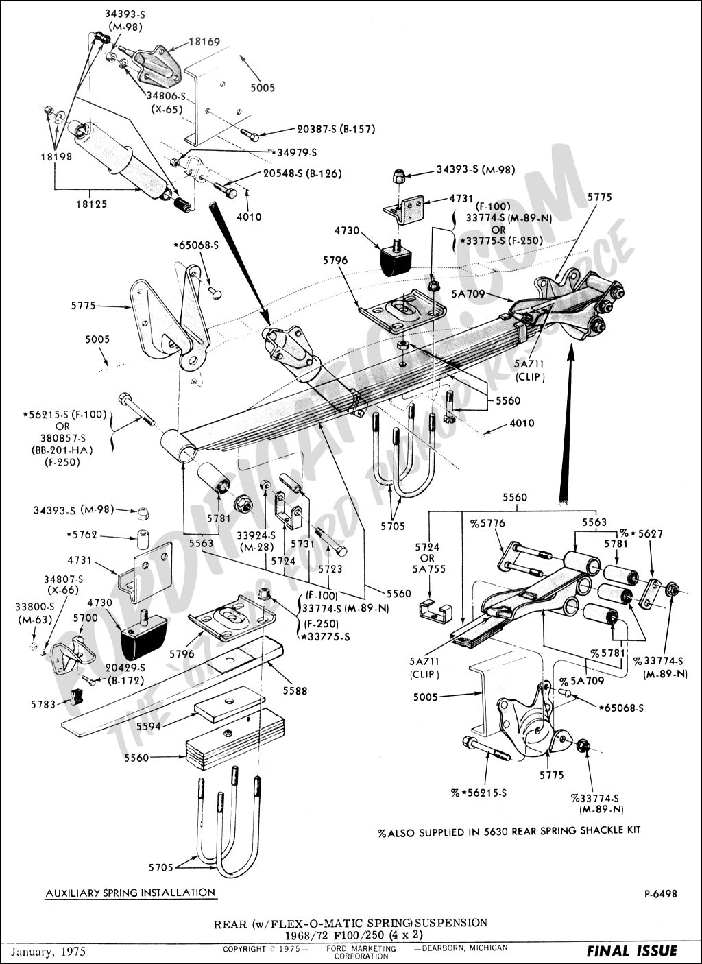2011 Ford Flex Front Suspension Diagram Best Secret Wiring Steering Column Truck Technical Drawings And Schematics Section A 1979 2010
