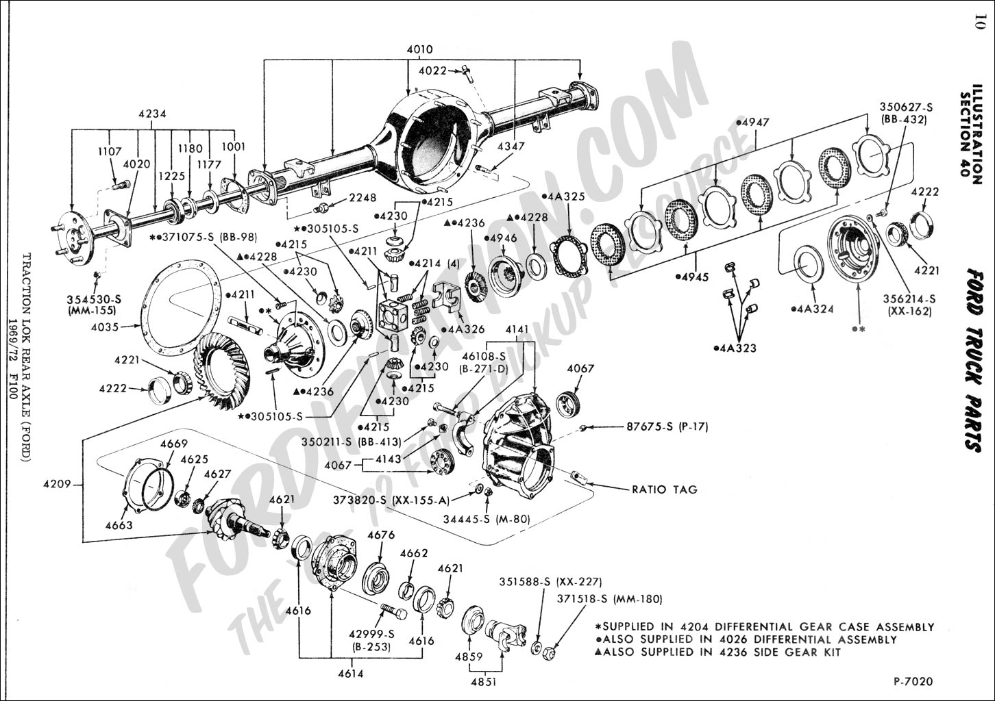 ford truck technical drawings and schematics section a front rh  fordification com