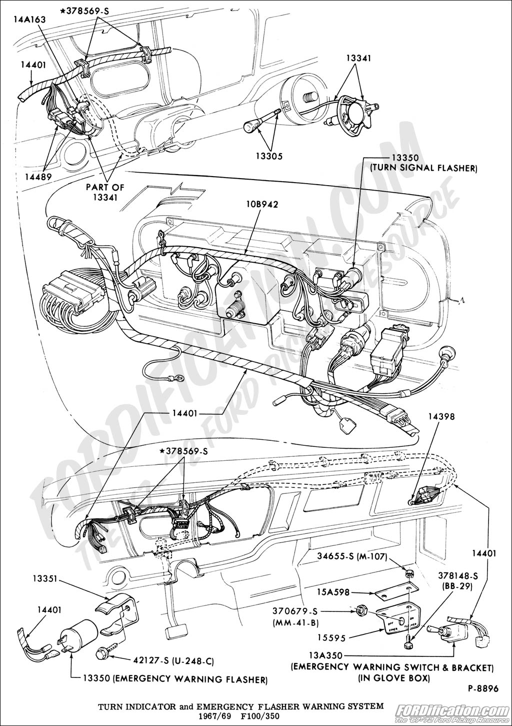 Ford Truck Technical Drawings And Schematics - Section I